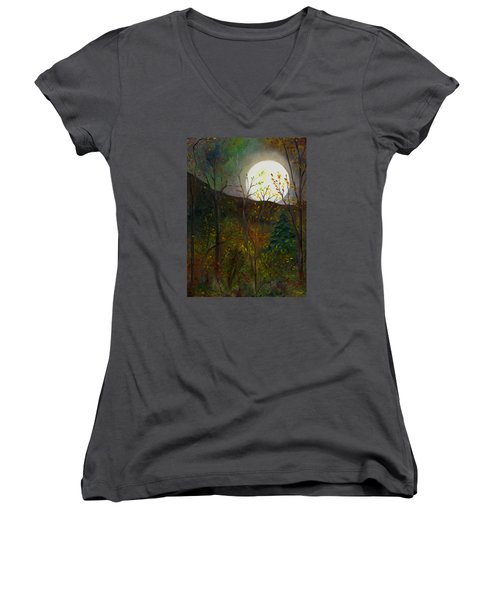 Frost Moon Women's V-Neck
