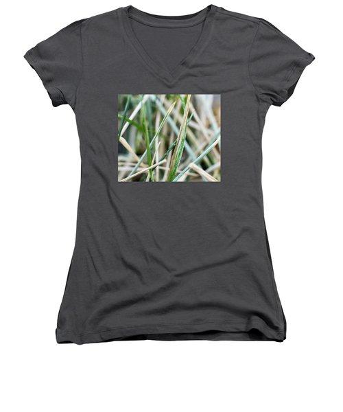 Frozen Grass Women's V-Neck