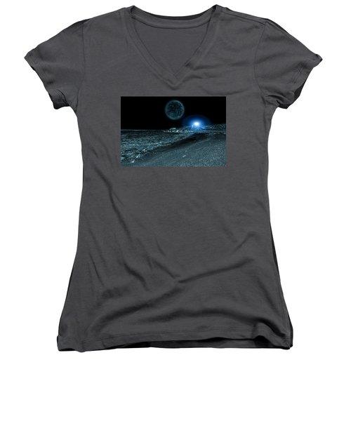 Frozen World Women's V-Neck T-Shirt
