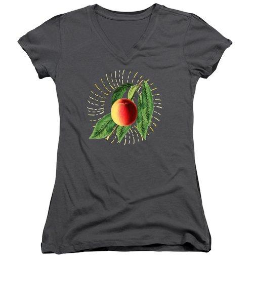 Fruit 0100 Women's V-Neck (Athletic Fit)