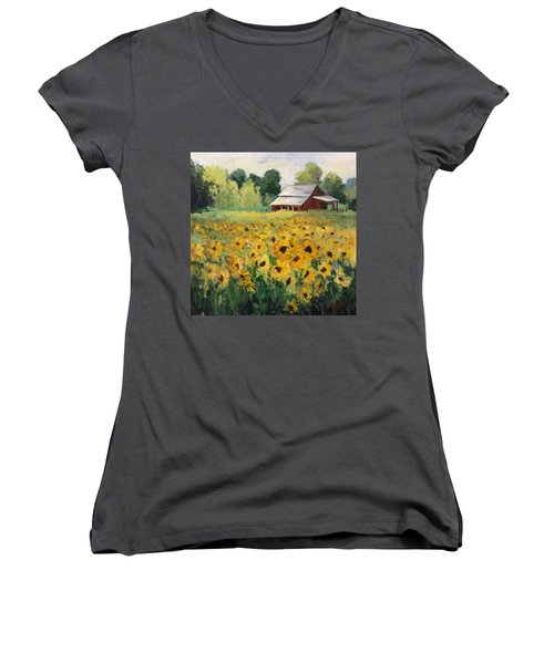 Fun In The Sun Women's V-Neck (Athletic Fit)