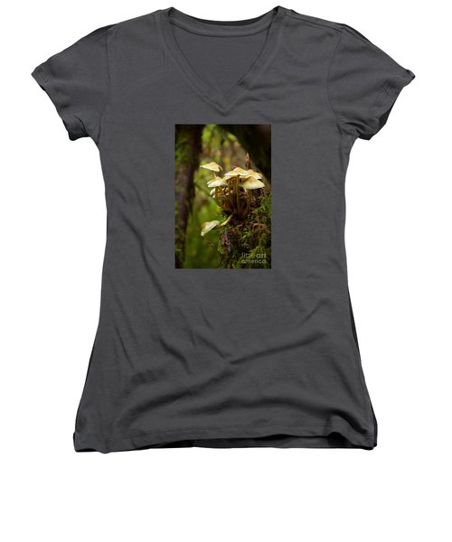 Fungal Blooms Women's V-Neck