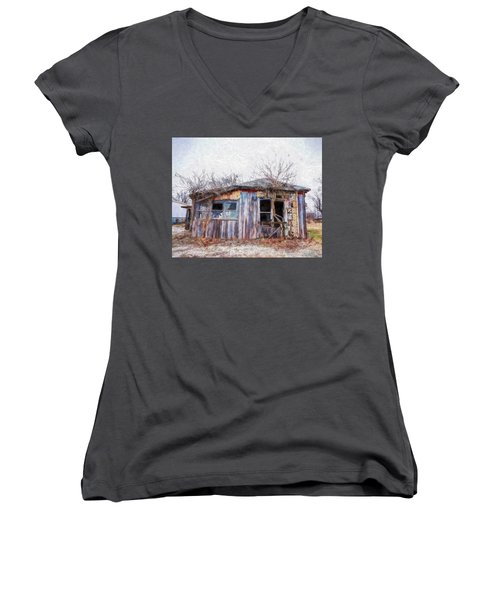 Funky Shack Women's V-Neck