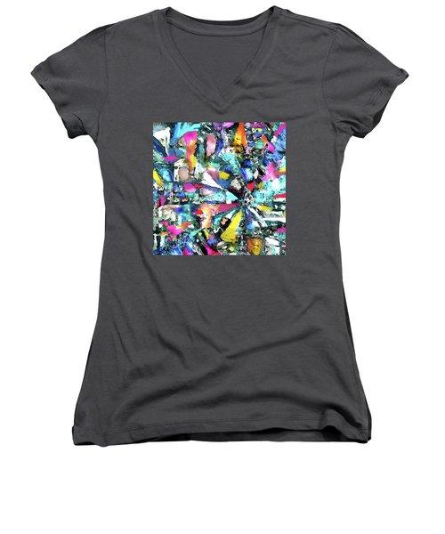 Fusion Process Women's V-Neck T-Shirt