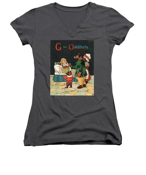 G For Goldilocks Women's V-Neck
