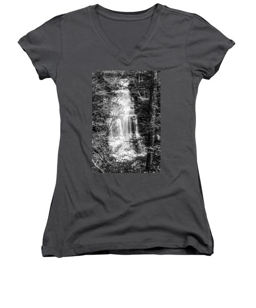 Ganoga Falls - 8907 Women's V-Neck T-Shirt