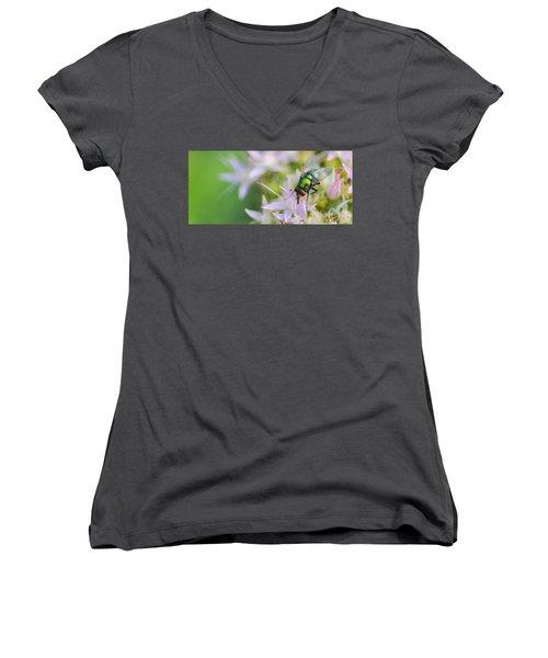 Garden Brunch Women's V-Neck