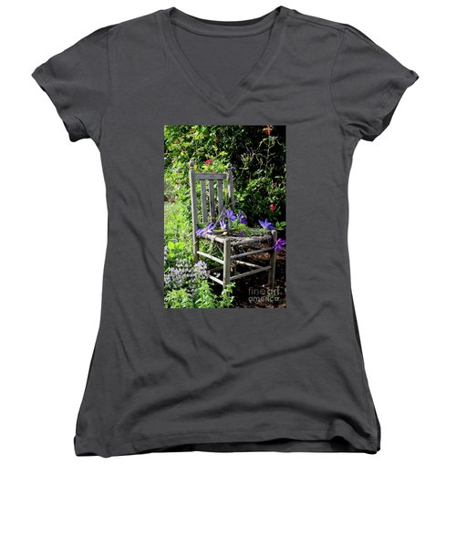 Garden Chair Women's V-Neck