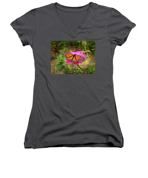 Garden Jewel  Women's V-Neck (Athletic Fit)