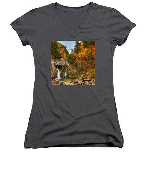 Garden Of Eden Women's V-Neck (Athletic Fit)