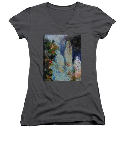 Garden Of Good And Evil Women's V-Neck T-Shirt
