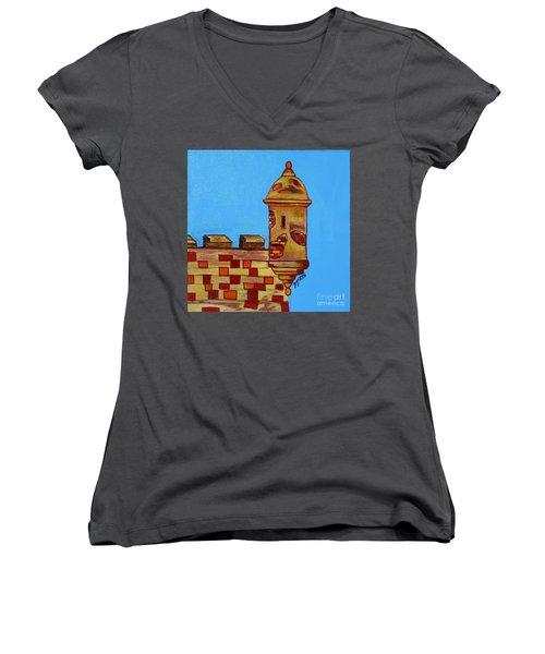 Garita I Women's V-Neck T-Shirt