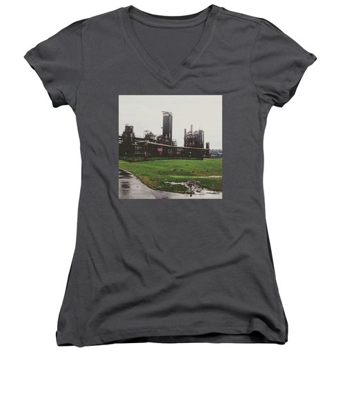 Gasworks Park Women's V-Neck