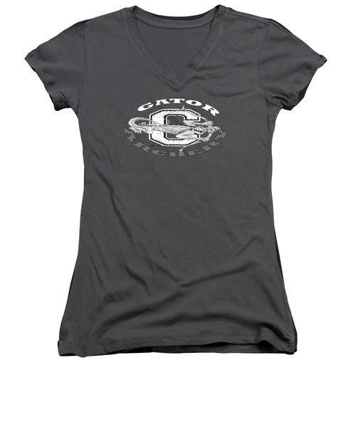 Gator Archery Women's V-Neck T-Shirt (Junior Cut)