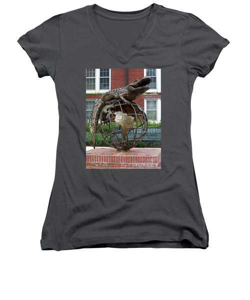 Gator Ubiquity Women's V-Neck T-Shirt