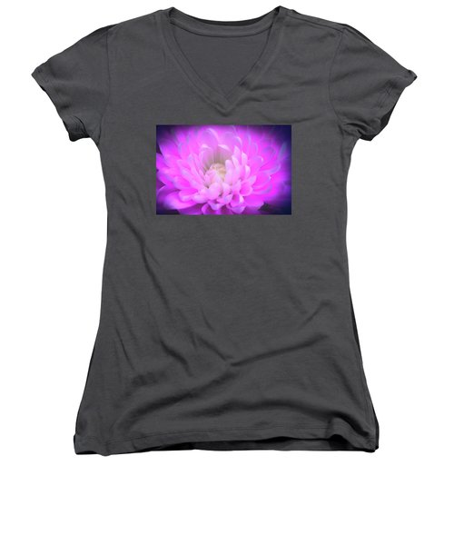 Gentle Heart Women's V-Neck T-Shirt