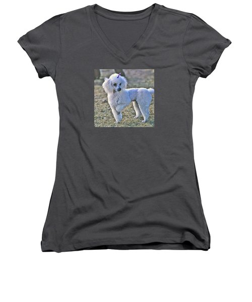 Georgie Women's V-Neck