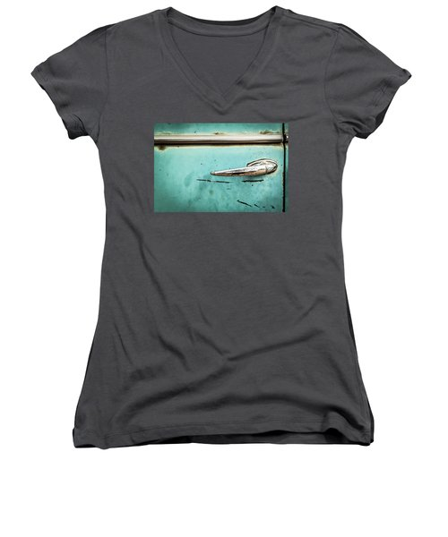Get A Handle On It Women's V-Neck T-Shirt