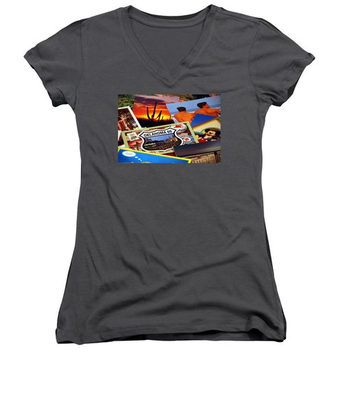 Get Your Kicks... Women's V-Neck