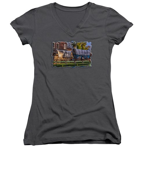 Ghost Of Old West No.1 Women's V-Neck