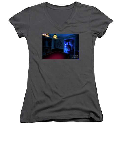 Ghost Of The Parlor Women's V-Neck