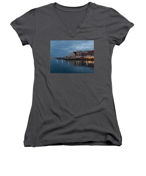 Giali Tzamissi  Women's V-Neck T-Shirt