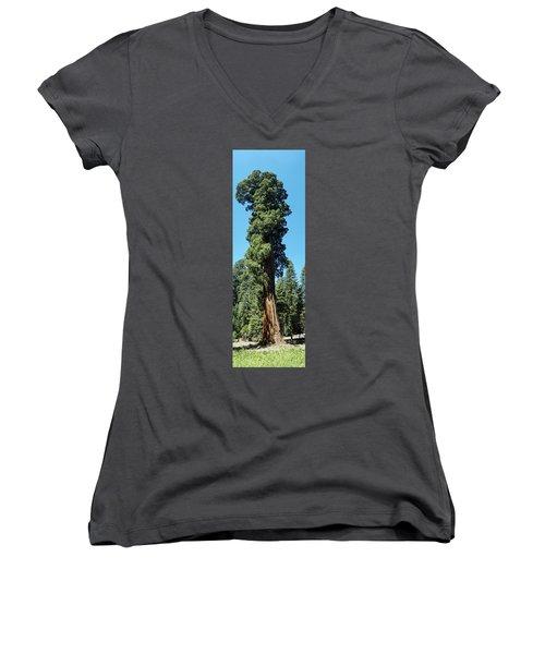Giant Sequoia, Sequoia Np, Ca Women's V-Neck