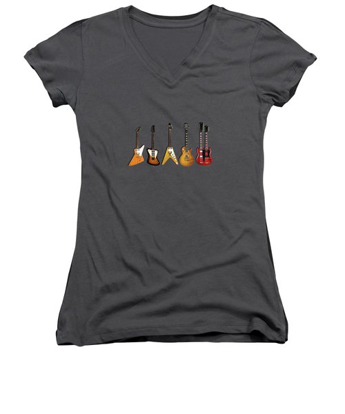 Gibson Electric Guitar Collection Women's V-Neck