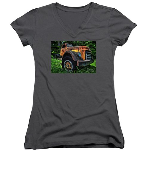 Jimmy Diesel Women's V-Neck T-Shirt