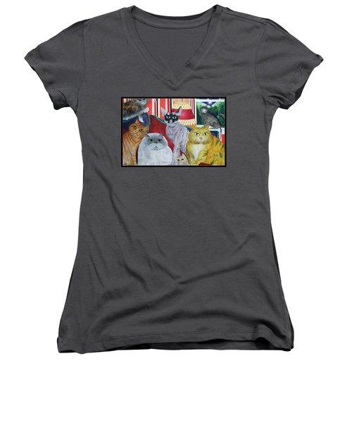 Girls Night Out Women's V-Neck T-Shirt