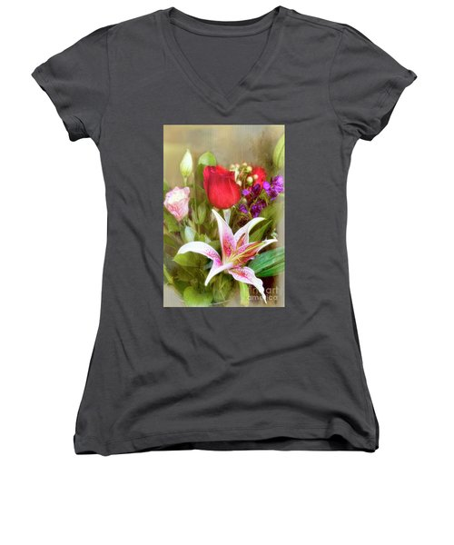 Given With Love Women's V-Neck (Athletic Fit)