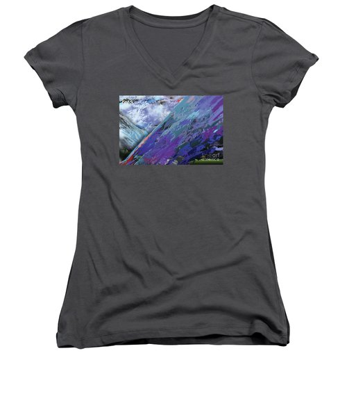Glacial Vision Women's V-Neck (Athletic Fit)