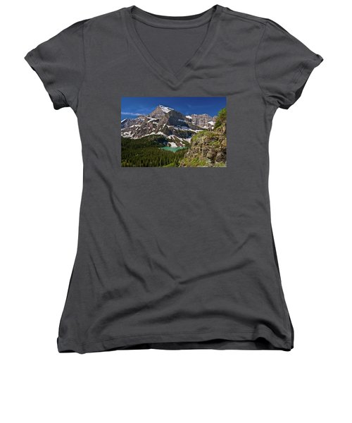 Glacier Backcountry 2 Women's V-Neck (Athletic Fit)