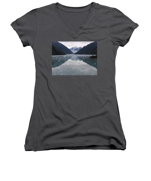 Glacier Blues Women's V-Neck