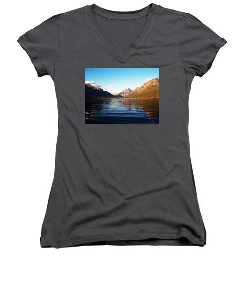 Glacier National Park 7 Women's V-Neck