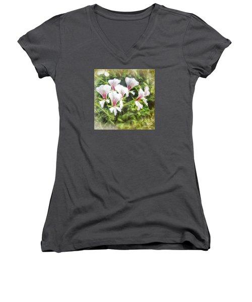 Gladiolus Callianthus Women's V-Neck