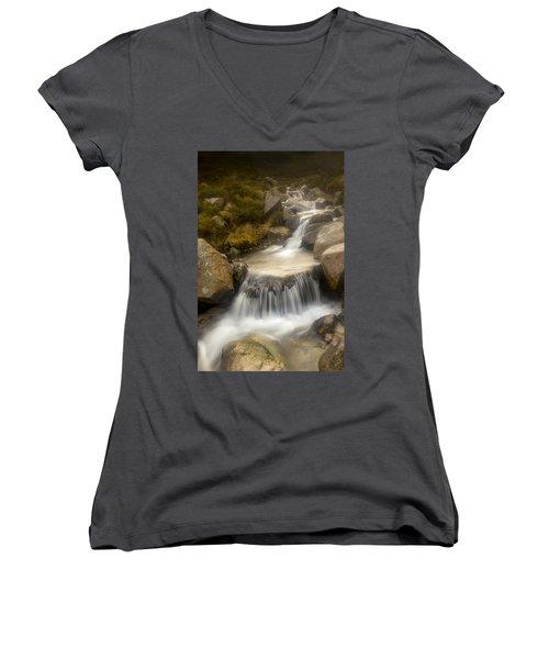 Glen River Nearer To The Source Women's V-Neck T-Shirt