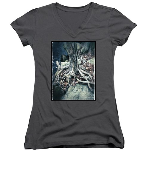 Gnarled Rooted Beauty Women's V-Neck