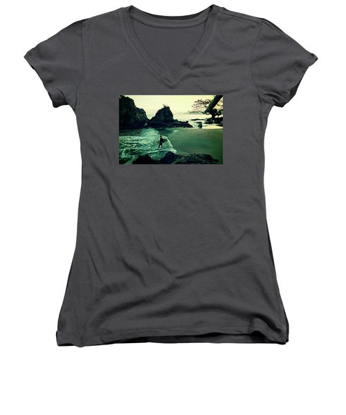 Go Your Own Way Women's V-Neck