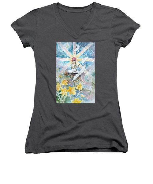 Goddess Awakened Women's V-Neck