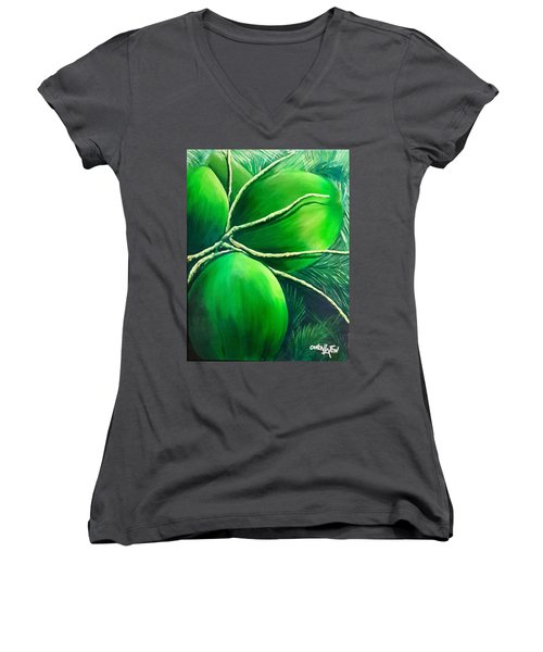 Going Nuts Women's V-Neck