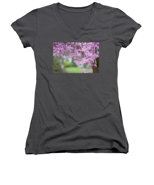 Going On A Limb Women's V-Neck (Athletic Fit)