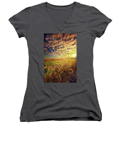 Going To Sleep Women's V-Neck