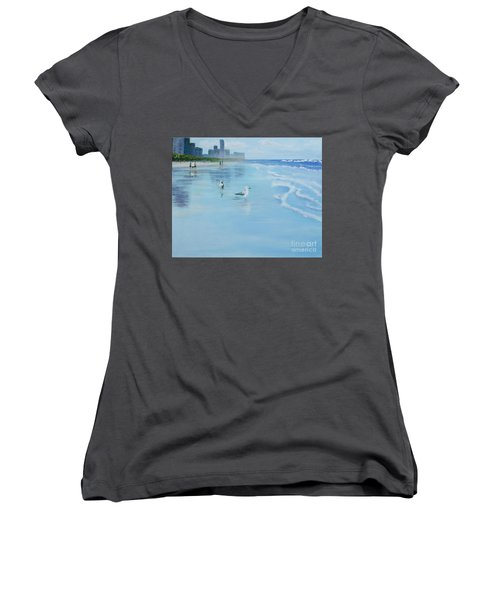 Gold Coast Australia, Women's V-Neck (Athletic Fit)