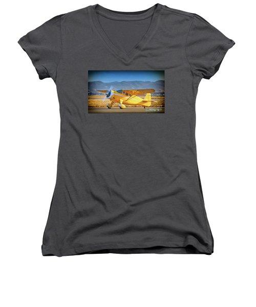 David Bole's Classic Howard Women's V-Neck T-Shirt