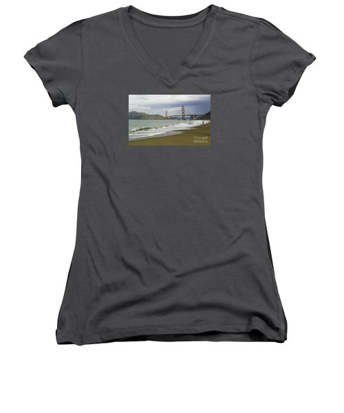 Golden Gate Bridge #4 Women's V-Neck