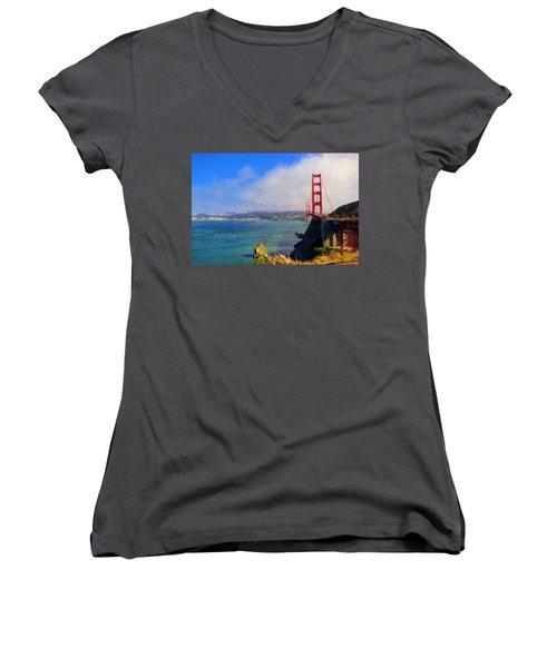 Golden Gate Women's V-Neck