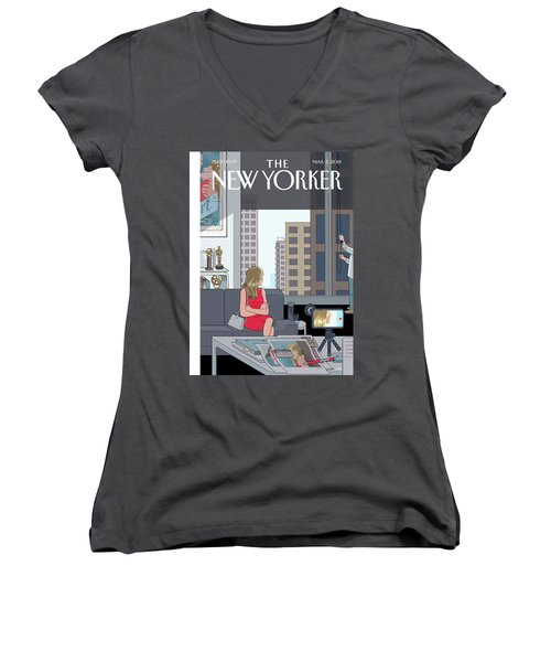 Golden Opportunity Women's V-Neck