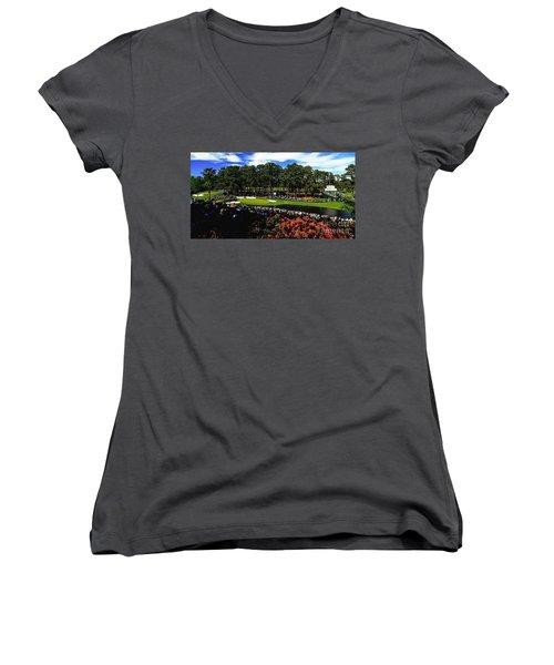Golf Masters Women's V-Neck T-Shirt (Junior Cut)