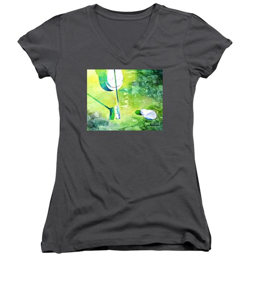 Golf Series - Finale Women's V-Neck T-Shirt